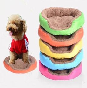 Colorful Cotton Pet Bed