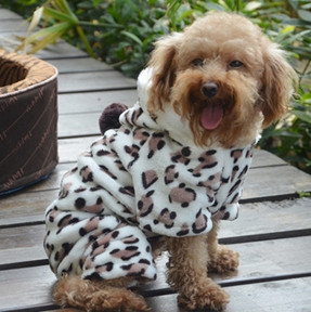 Puppy snowsuit dog cloth