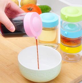 Creative Stackable Plastic Seasoning Jar